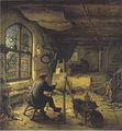 Adriaen van Ostade - Der Maler in seiner Werkstatt - 1663.jpeg