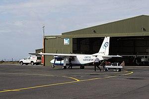 Connemara Airport - Image: Aer Arann EI CUW Connemara Airport