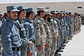 Afghan Local Police (ALP), Afghan National Police and Afghan Border Police officers stand in formation during an ALP graduation ceremony at the regional ALP training center in the Lashkar Gah district, Helmand 130606-A-RI362-222.jpg