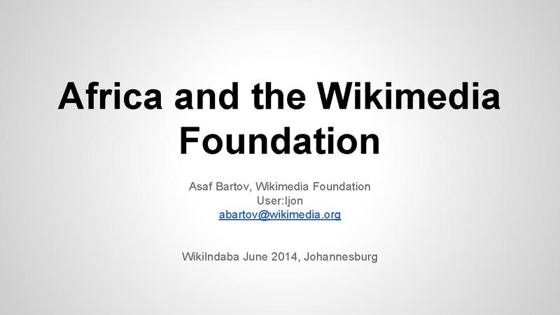File:Africa and the Wikimedia Foundation -- WikiIndaba June 2014.pdf