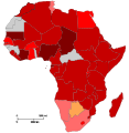 African Union member states by corruption index.svg