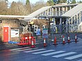 Aftermath of ATM ram raid at Haslemere Station 02.jpg