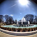 Afternoon sun in Senate Park - fountain now flowing. (8616251595).jpg