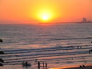 Agadir coucher soleil 0992
