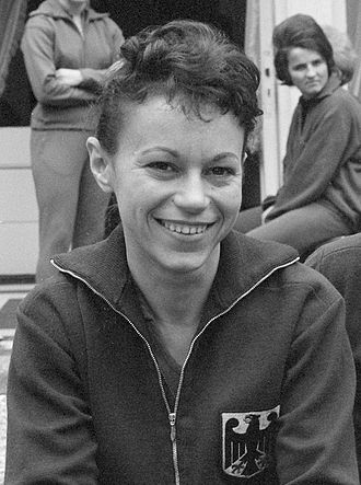 Agnes Simon - Agnes Simon in 1962