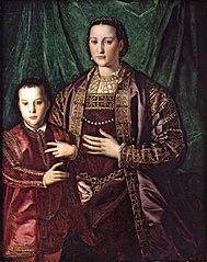 Eleonora di Toledo with her son Francesco