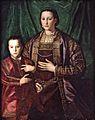Agnolo Bronzino - Eleonora di Toledo with her son Francesco.jpg