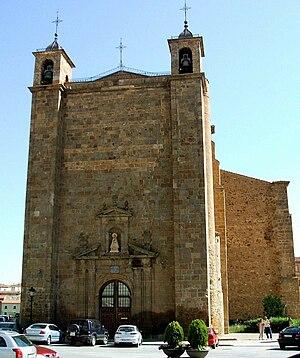 Ágreda - Basilica of Nuestra Señora de los Milagros, in Ágreda