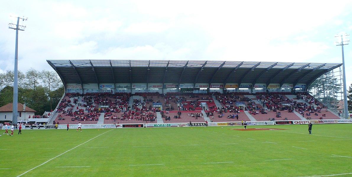 Parc des Sports d'Aguiléra en 2008