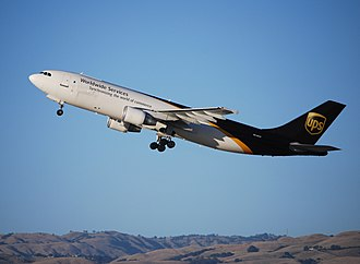 "UPS Airlines - Airbus A300F (""synchronizing the world of commerce"" livery)"