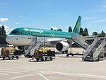 Airbus A320-214 Aer Lingus EI-EZV in Borispol airport.jpg
