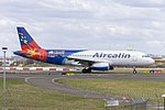 Aircalin (F-OZNC) Airbus A320-232 arriving at Sydney Airport (1).jpg