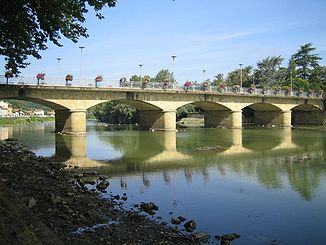 Bridge in Aire-sur-l'Adour