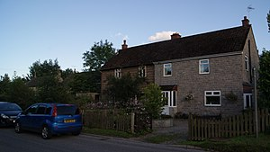 Airey house - A refurbished and an unrefurbished Aiery house in Sicklinghall, North Yorkshire.