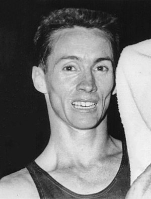 Al Lawrence (distance runner) - Lawrence in 1960