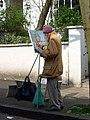 Al fresco artist, Hampstead - geograph.org.uk - 778852.jpg