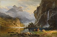 Albert Bierstadt - Indians Spear Fishing - Google Art Project.jpg