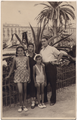 Alberto Cavaliere and his family, Nice, 1934.png