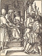 Albrecht Dürer, Pilate Washing His Hands, probably c. 1509-1510, NGA 6770.jpg