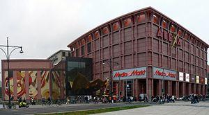 Alexa Centre - The centre's exterior, 2007