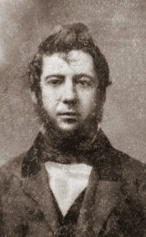 Alexander Cartwright - Cartwright in 1855