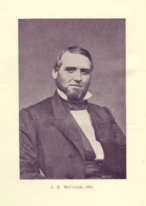 Alexander McClure - Alexander McClure in 1860