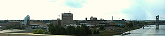 Alexandria, Louisiana - Wide view of downtown Alexandria