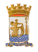 Coat of arms of Alexandria, Egypt.