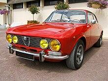 Alfa romeo giulia gt wikip dia - Alfa romeo coupe bertone 2000 a vendre ...