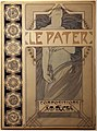 Alfons mucha, le pater, disegno definitivo per litografia, 1899.jpg