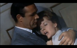 Sean Connery en Tippi Hedren in Marnie
