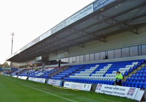 Moss Rose - Alfred McAlpine Stand in 2006.