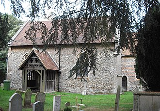 Bradfield Combust - Image: All Saints' Church, Bradfield Combust