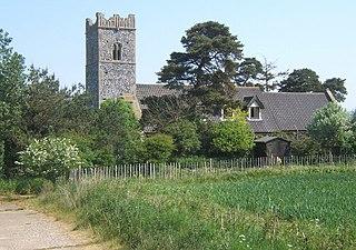 Knettishall farm village in the United Kingdom