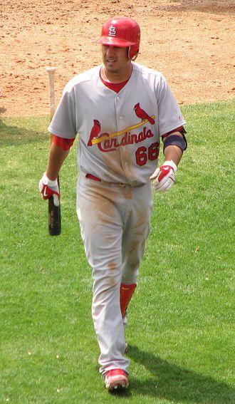 Allen Craig - Craig wearing Spring training number, 2010.