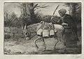 Alphonse Legros - The Dairymaid of Boulogne (Third Plate) - 1920.601 - Cleveland Museum of Art.jpg