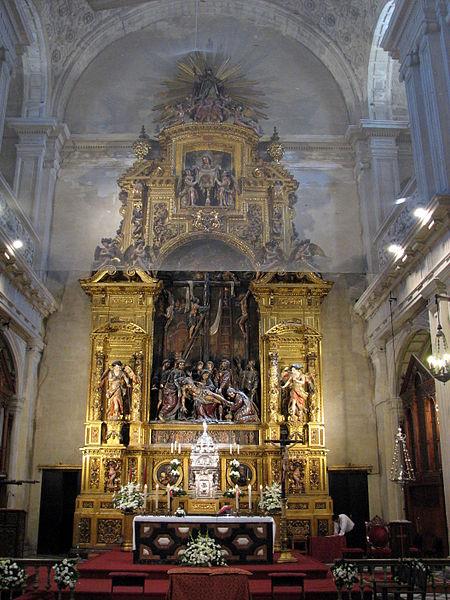File:Altar Iglesia del Sagrario.jpg