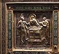 Altare di s. ambrogio, 824-859 ca., retro di vuolvino, storie di sant'ambrogio 02 guarigione di uno zoppo.jpg