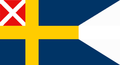 Alternate state flag of Sweden 1838–1844.png