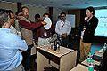 Alternating Current Visualization Experiment - Indo-Finnish-Thai Exhibit Development Workshop - NCSM - Kolkata 2014-11-27 9788.JPG