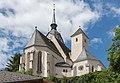 Althofen Pfarrkirche hl. Thomas von Canterbury NO-Ansicht 24062015 5201.jpg