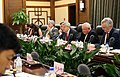 Ambassador Branstad and Secretary of Agriculture Meets with Agriculture Minister Han (39683724394).jpg