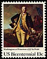 American Bicentennial Washington at Princeton 13c 1977 issue U.S. stamp.jpg