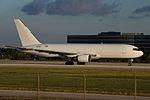 Amerijet International, Boeing 767-200, N739AX (15860438802).jpg