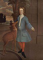 Portrait de John van Cortlandt  , Peintre américain de 1730, Brooklyn Museum