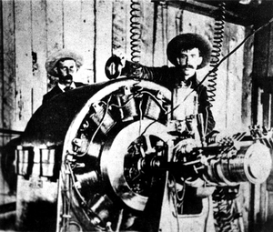 Alternator - Image: Ames Colorado generator alternating current power plant 1891 Gold King Mine
