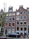 amsterdam bloemgracht 162 and 164 across