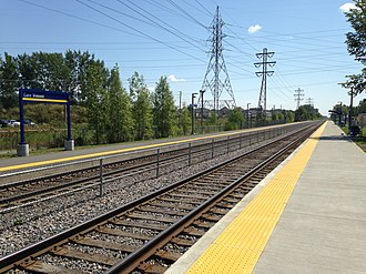 Vimont station - Image: Amtvimont
