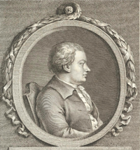 Monochrome portrait of Anders Jahan Retzius
