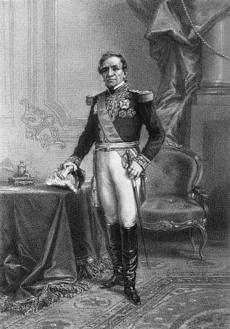 Achille-Louis-Joseph Sirouy - Le Maréchal Andrés de Santa Cruz (1861)